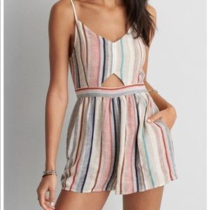 AE keyhole front romper